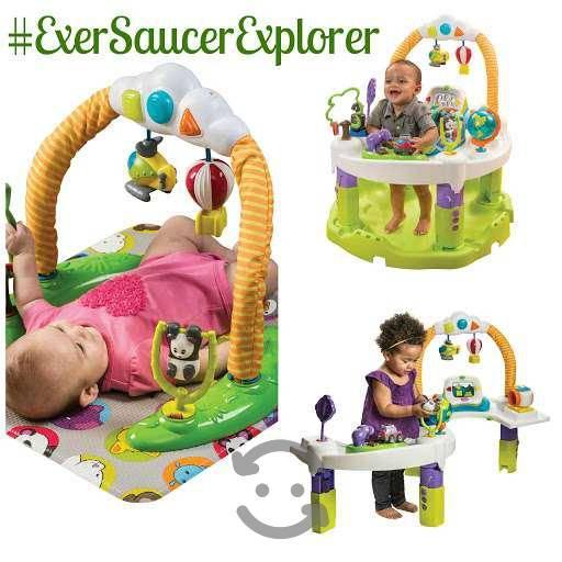 Exersaucer triple fun bouncer evenflo