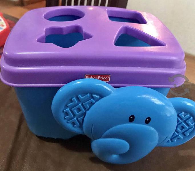 Lote de juguetes fisher price y melissa & doug
