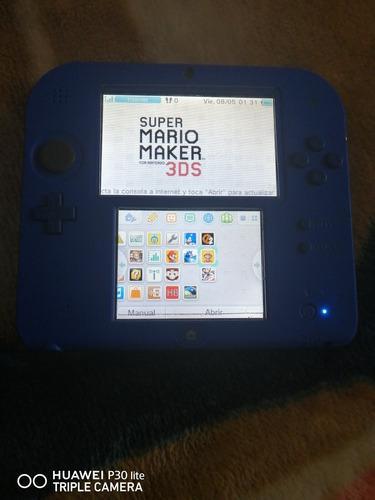 Nintendo 2ds juegos mario cia 8gb azul kof neo geo