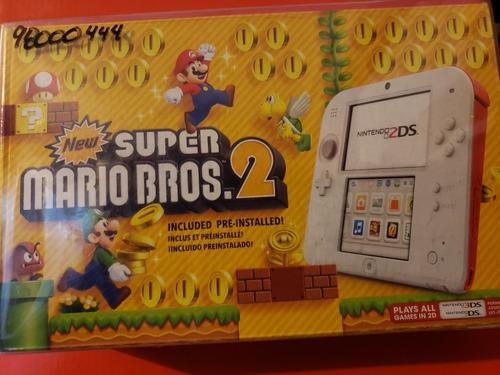 Nintendo 2ds new super mario bros 2da edición del