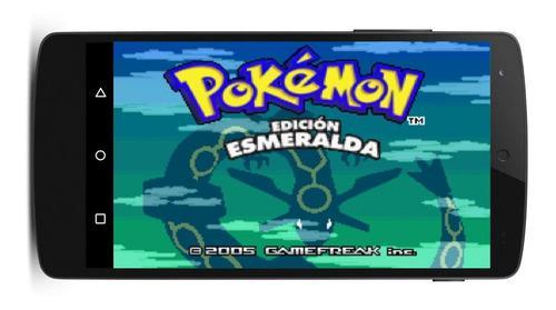 Pokemon todos los juegos gameboy advance español android pc
