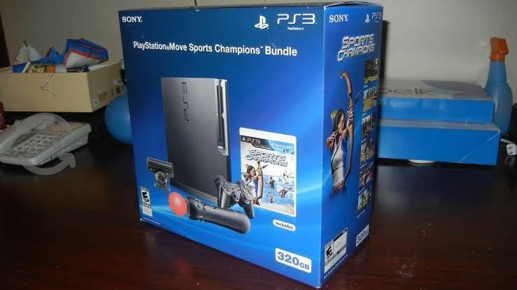 Ps3 slim con 34 juegos digitales
