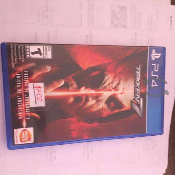 Video juego ps4 ( usado )