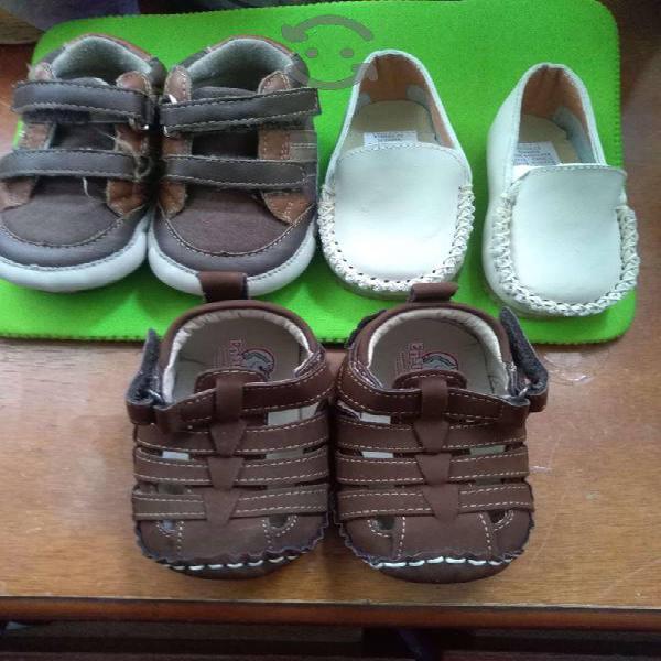 Zapatos de bebe set 3 pares