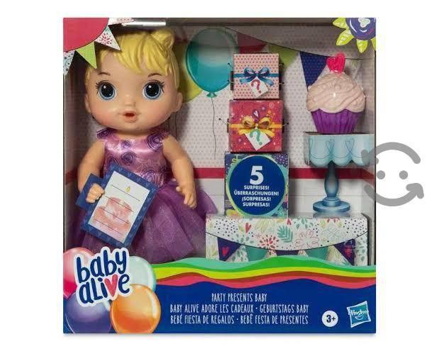 Baby alive fiesta de regalos
