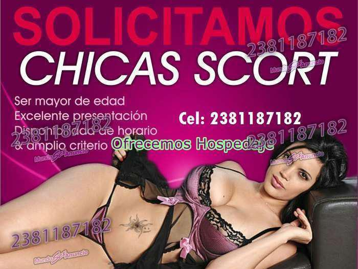 AGENCIA SCORTS SOLICITA CHICAS CON HOSPEDAJE
