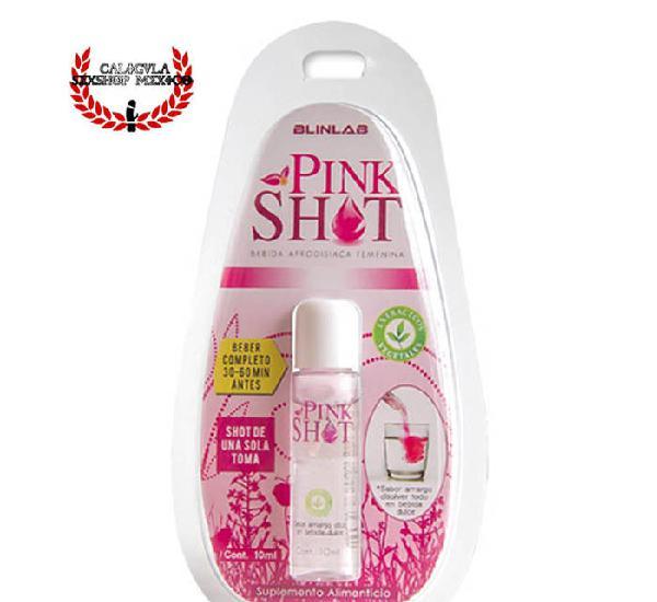 Afrodisiaco para Dama Mas orgasmo Punto G Pink Shot