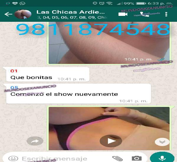 CHAT EXCLUSIVO CANDENTE