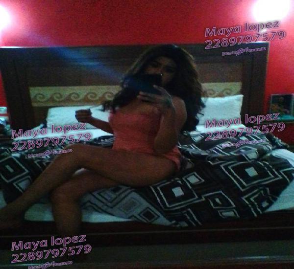 Chica trans scort disponible ahora en Xalapa