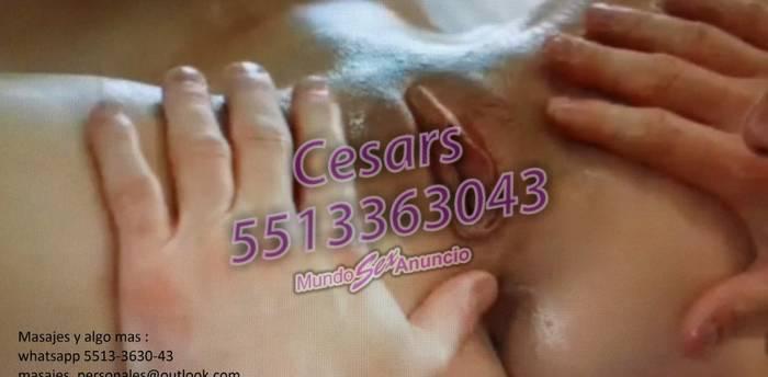Disfruta en masaje en tu casa o un rico oral en tu auto.