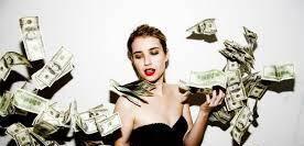 Eres una chica de amplio criterio gana mucho dinero