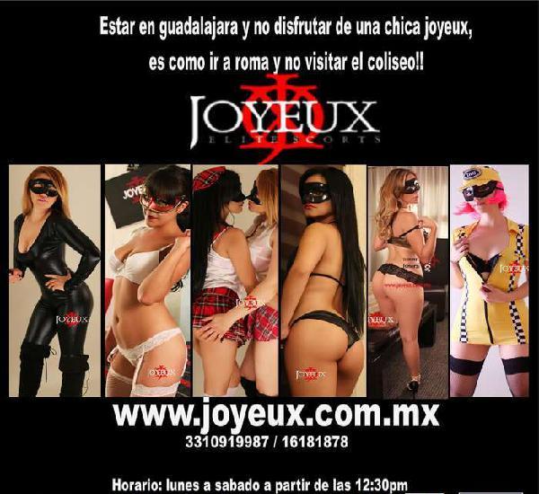 LAS MEJORES SCORTS VIP DE GDL* SOLO EN JOYEUX