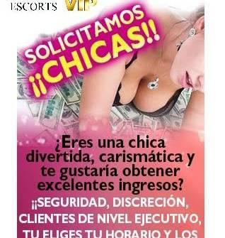 SOLICITO CHICAS BONITAS Y DELGADAS