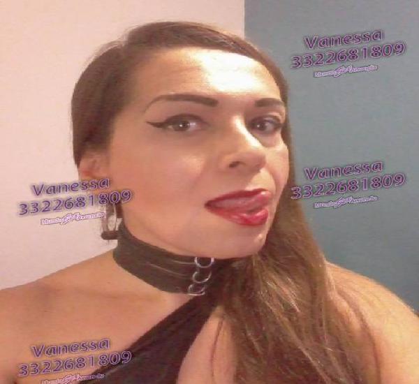 VANESSA FEMENINA, SEXY, SENSUAL Y CON CLASE