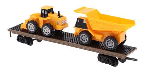 1:87 modelo tren simulación carro tren de carga coche pista