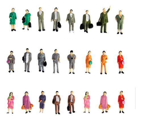 24 unids mini ho oo personas figuras de acción modelo
