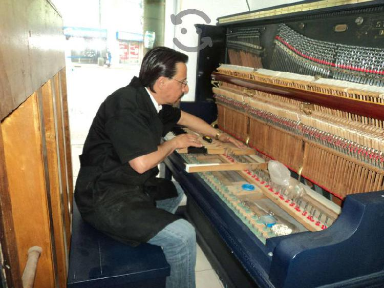 Afinación de pianos y pianolas
