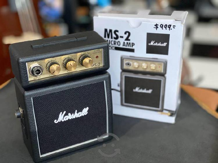 Amplificador marshall para guitarra