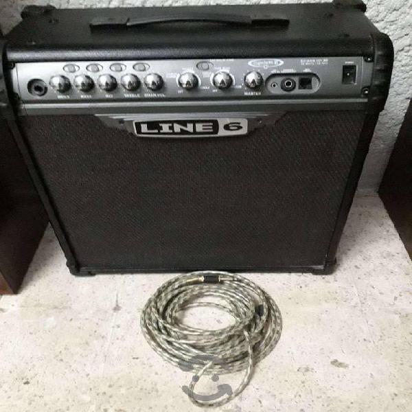 Amplificador para guitarra line 6 iii 30w