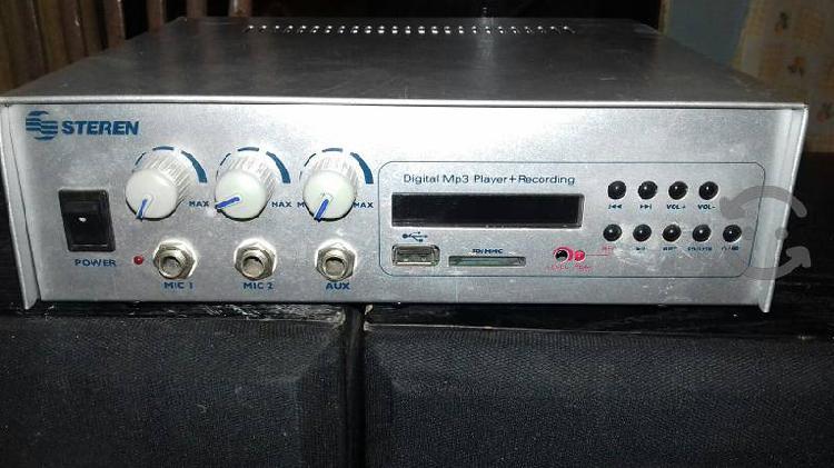 Amplificador para perifoneo
