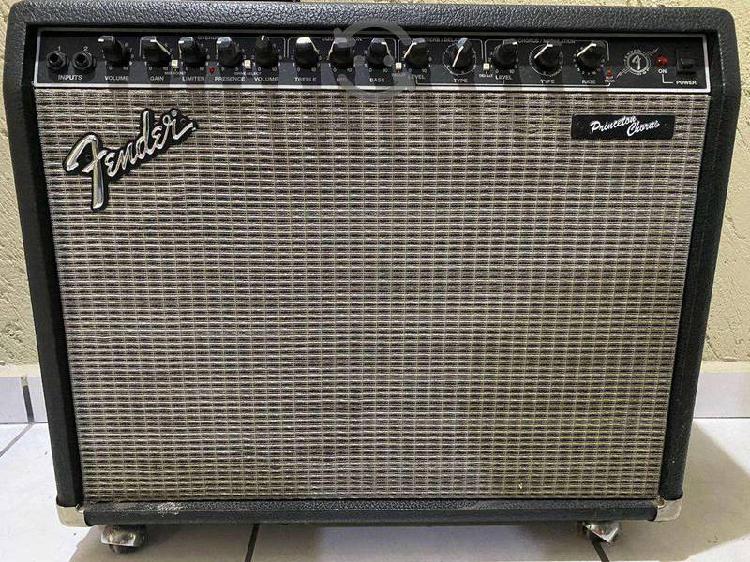 Amplificador/guitarra fender princeton chorus