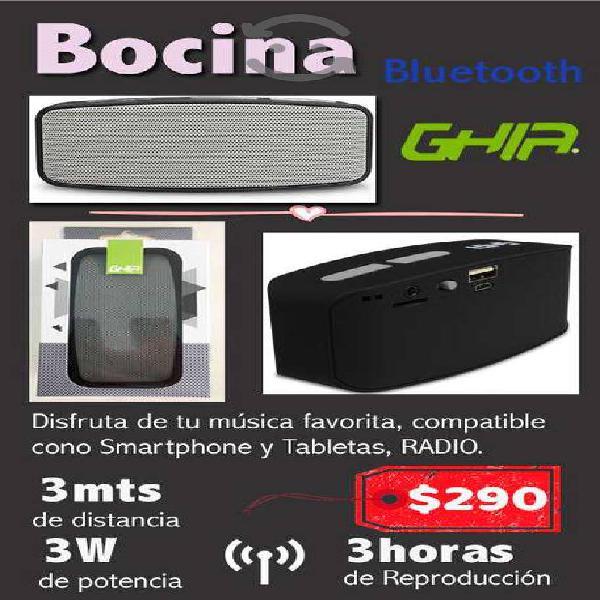 Bocina bluetooth nueva