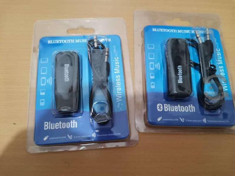 Convertidor Adaptador de audio bluetooth, auxiliar