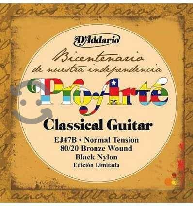 Cuerdas d'addario ej47b bicentenario para guitarra
