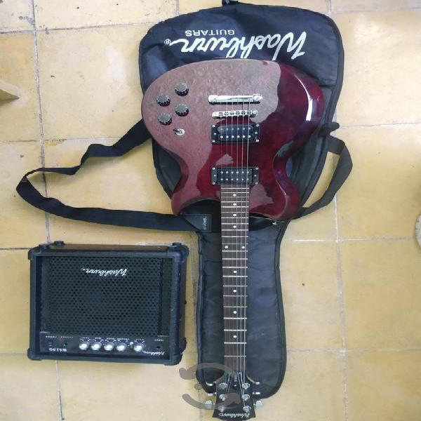 Guitarra electrica washburn