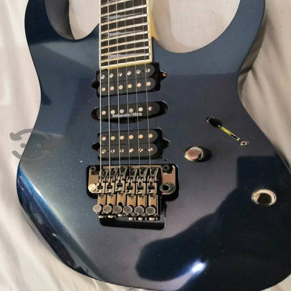 Hermosa guitarra ibañez rg prestige dimarzio