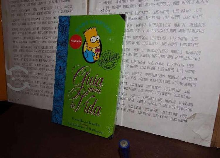 Libro guía para la vida bart simpsons matt groenin