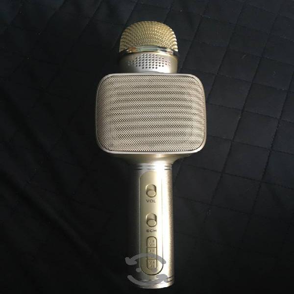 Microfono, bocina bluetooth grábate cantando