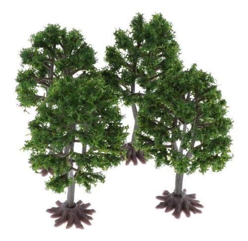 Plástico modelo árboles diseño de tren wargame scenery