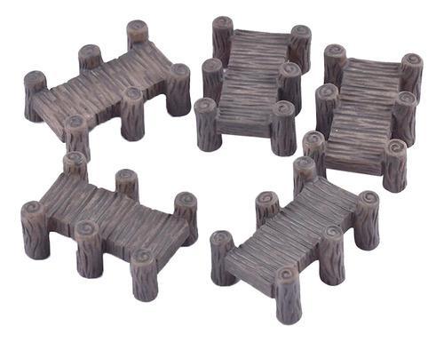 Puentes en miniatura a escala ho oo para maquetas de trenes