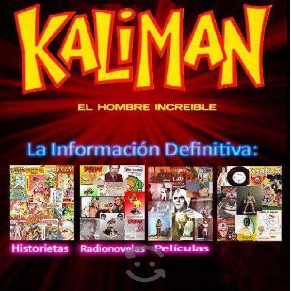 Se vende colección completa de kaliman