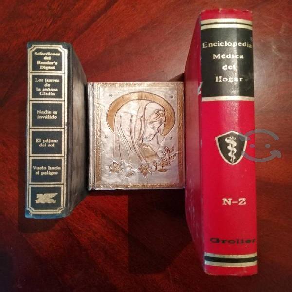 Tres libros bien para leero