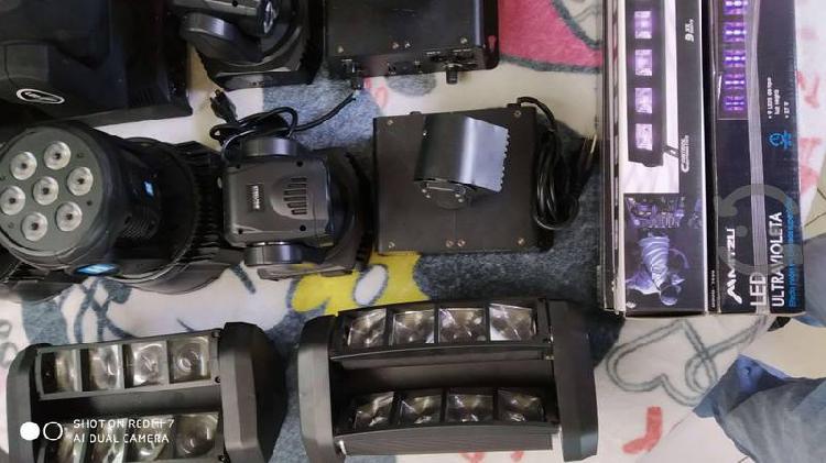Venta de equipo de audio e iluminacion