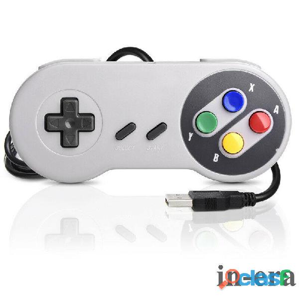 Control usb retro snes super nintendo para pc