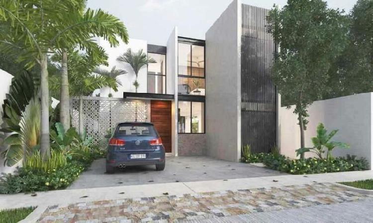 Casa en venta privada ya´ax-beh (mod c) cholul, mérida