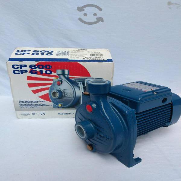 Bomba de agua pedrollo cpm-600 1/2 hp