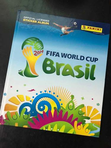 Brasil 2014 lleno álbum mundial panini pegado completo