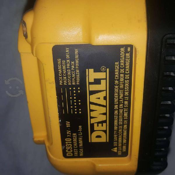 Cargador para baterias dewalt carga rapida 7 a18v