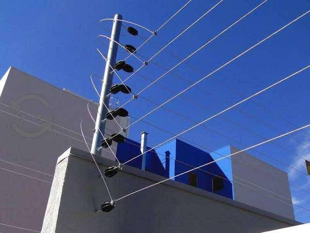 Cercas electrificadas cámaras de seguridad y alarm