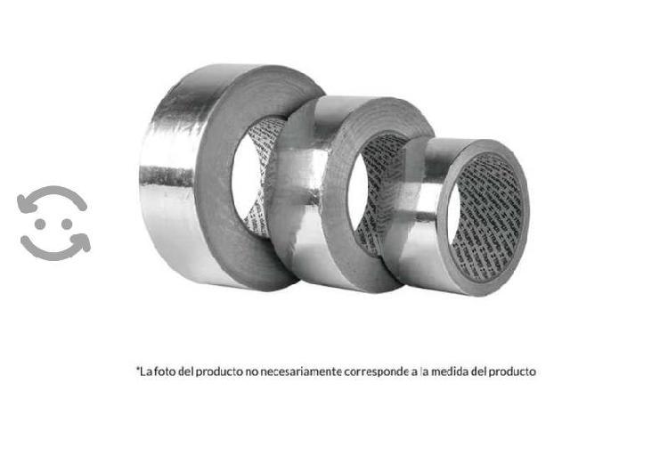Cinta de aluminio adhesiva 48 mm x 30 m altas temp