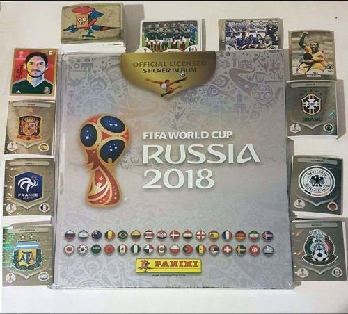 Colección completa russia 2018 y platino + mini