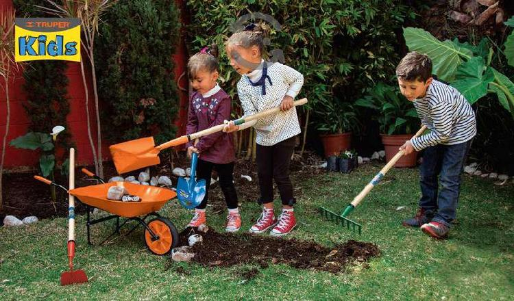 Herramienta para jardin niños