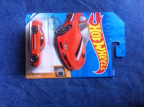 Hot wheels colección hw turbo '95 mazda rx-5 1 pza.