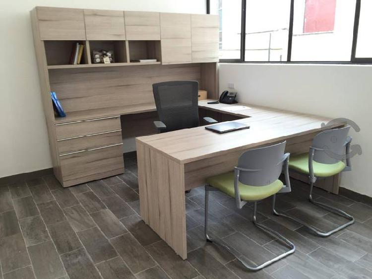 Muebles para oficina de exelente calidad seminuevo