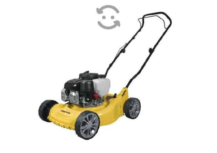Podadora de pasto con motor gasolina, 3hp 16 pulga