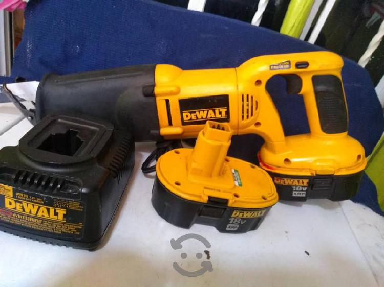 Sierra sable dewalt de 18 volts
